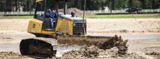 Site Construction Underway on Woodland Lakes Development